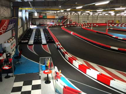 Exclusive Electric Go Kart Racing Bratislava Track