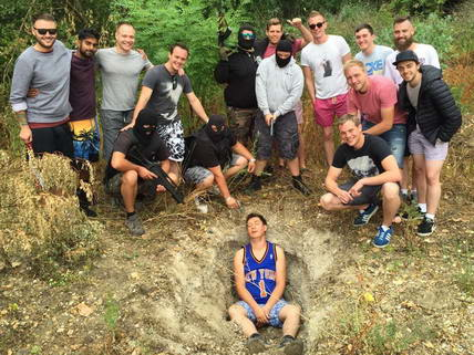 Bratislava Stag Kidnapping & Paintball