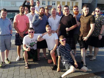 Group David Sutherland Stag Party Bratislava Stag