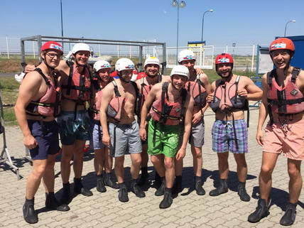 Gilles Stag Bratislava White Water Rafting
