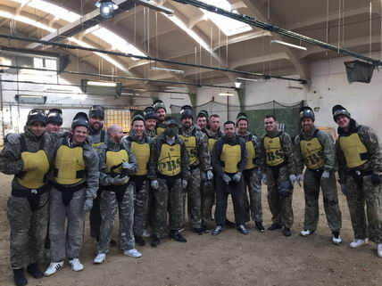 Mark Bedford Bratislava Indoor Paintball