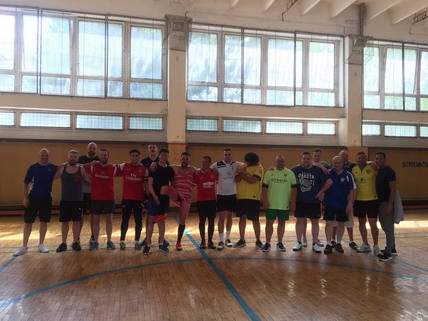 Paul Webster Bratislava Indoor Football