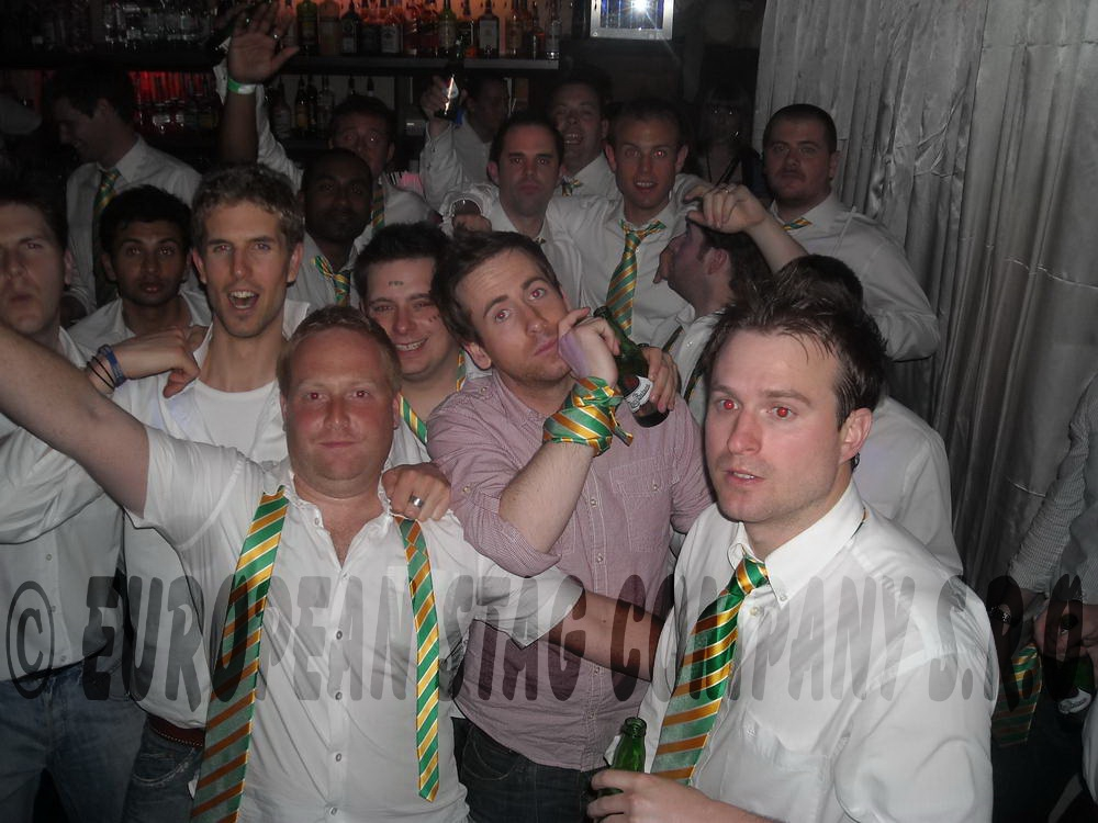 Bratislava Stag Group Night Out School Boys